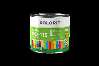 Kolorit Емаль ПФ-115 Универсал зеленая 0,9 л