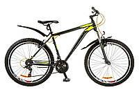 """Велосипед 26"""" Formula DYNAMITE AM 14G Vbr рама-19"""" серо-желтый (м) с крылом Pl 2017"""