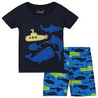 Комплект для мальчика Jumping Beans Море (р.1,2,3,4,5,6 лет)