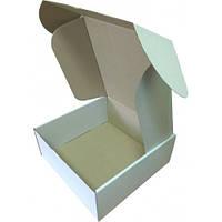 Коробка картонная (250x250x100), белая