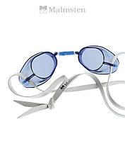 "Очки ""шведки"" для плавания Malmsten Swedish Standart (Blue), фото 1"