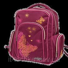 Школьный рюкзак zibi basic flowers zb17.0005fs ортопедическая спинка