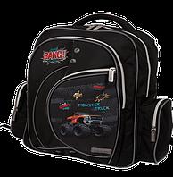 Школьный рюкзак zibi basic monster truck zb17.0002mt светоотражающие вставки