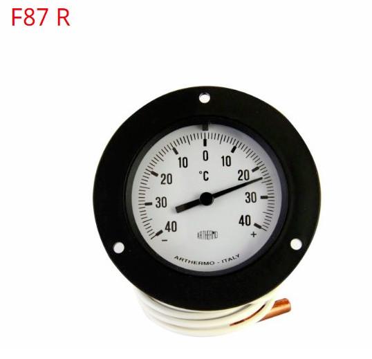 Термометр панельный механический (-40/+40°C) FR87RF60 Black