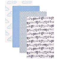 Комплект пеленка фланель ТМ Hudson Baby 76*91см