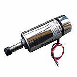 Электро шпиндель 300 Вт 12-48 В для ЧПУ фрезерного станка с воздушным охлаждением, ER11 патрон, фото 2