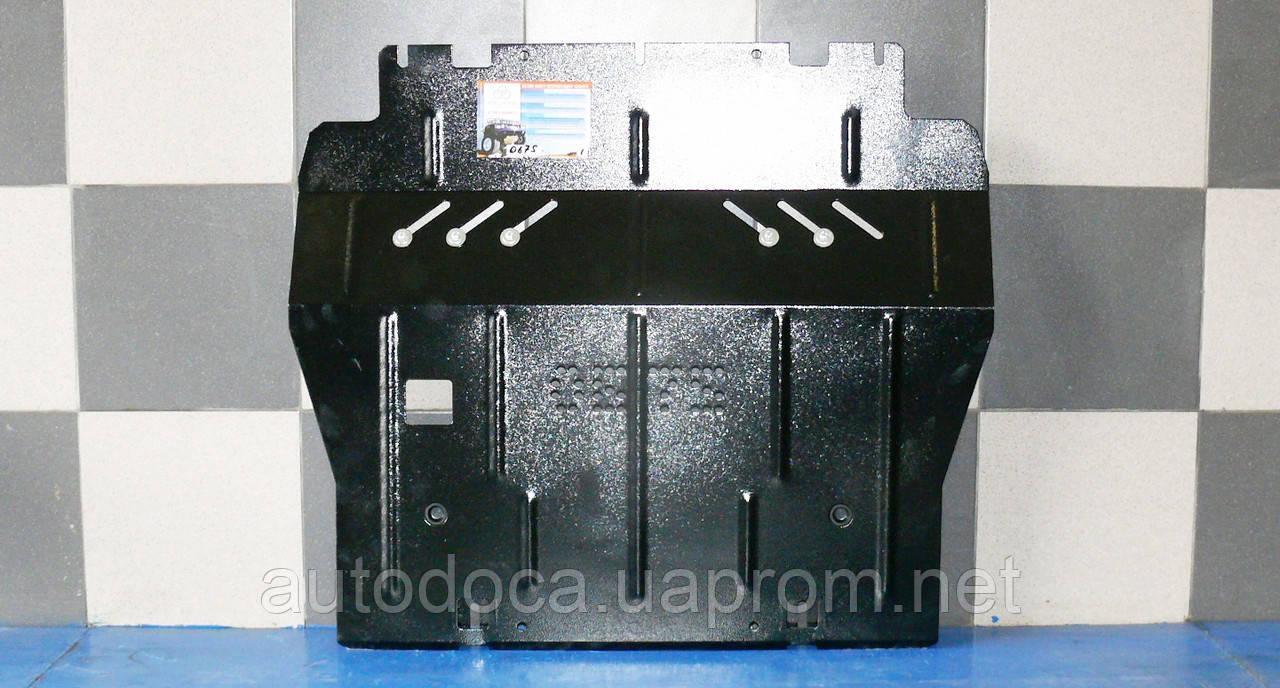 Защита картера двигателя и кпп Citroen C4 Picasso 2013-