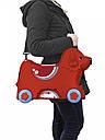 Детский чемодан на колесиках красный BIG-Bobby-Trolley BIG 0055350, фото 7