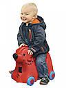Детский чемодан на колесиках красный BIG-Bobby-Trolley BIG 0055350, фото 8