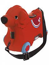 Детский чемодан на колесиках красный BIG-Bobby-Trolley BIG 0055350