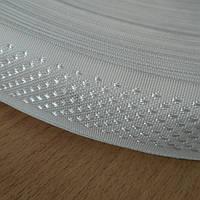 Тесьма 30мм(белые точки на кольцах)