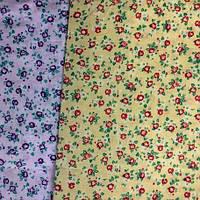 Ткань коттон набивной легкий (Мелкий цветочек)