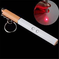 Фонарь Брелок ZK-9107 сигарета, led-фонарик, лазерная указка