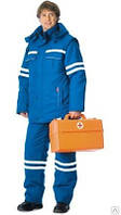 Костюм «Скорая помощь» мужской синий с свп зимний