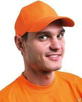 Кепка оранжевая, пошив