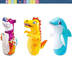 Надувная игрушка-неваляшка 3-D Bop Bags Intex 44669
