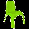 Набор детской пластиковой мебели - стол и 2 стул. (ЖЕЛТЫЙ СТОЛ) Украина, фото 3
