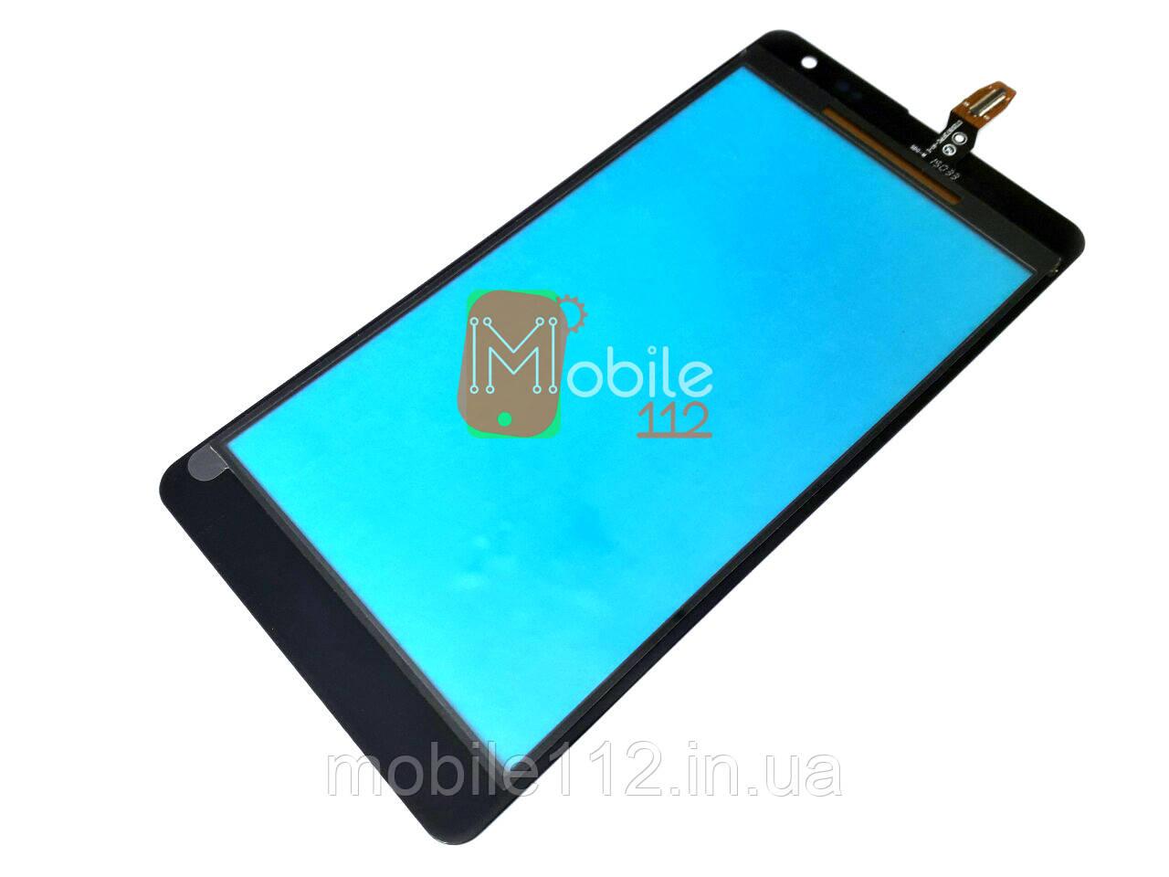 Тачскрин для Microsoft 535 Lumia Dual Sim RM-1090 (CT2S1973FPC-A1-E), чёрный