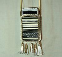 Маленькие сумочки для мобильных. Женские сумочки на шею для мобильных телефонов 6