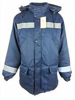 """Куртка рабочая утепленная """"Метель-2"""" синего цвета"""