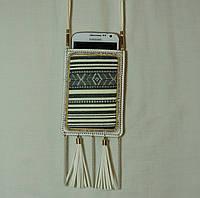 Маленькая сумочка для мобильного. Женская сумочка на шею для мобильного телефона 7