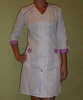 Медицинский халат «Жаклин»  под заказ