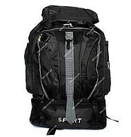 Вместительный рюкзак для мужчин черного цвета (50193)