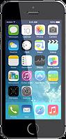 Китайский смартфон iPhone 5S, Android 4.2.2, GPS, 2 SIM, камера 8 Mп, GPS, 3G, Multi-touch 5 точек касания. Черный