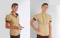 Блузки женские классические, Блузки корпоративные для девушки.