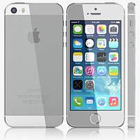 Китайский смартфон iPhone 5S, Android 4.2.2, GPS, 2 SIM, камера 8 Mп, GPS, 3G, Multi-touch 5 точек касания. Белый