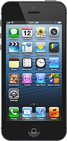 "Китайский смартфон iPhone 5, 1 SIM, 4 Гб, камера 5 Мп, дисплей 4"", Android 4.0.4,  multi-touch"