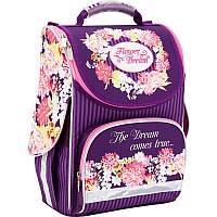 Каркасный рюкзак - ранец 501 Flower dream