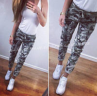 Новинка! Модные комуфляжные женские штаны