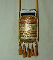 Сумочки для телефонов, чехлы - сумочки на шею с орнаментом 11