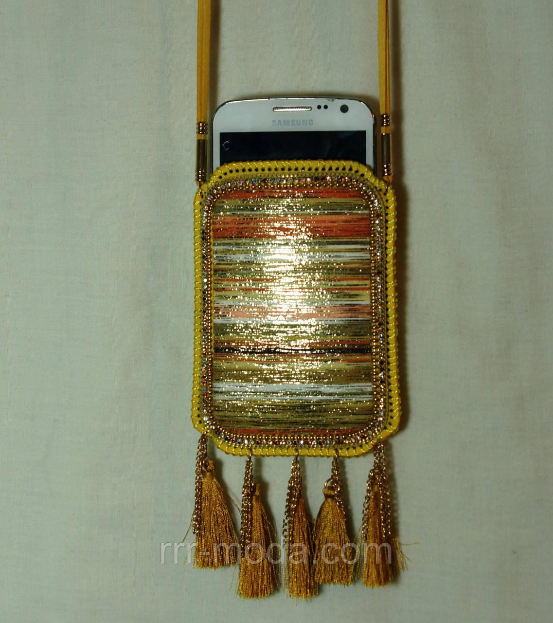 fc802b978405 Сумочки для телефонов, чехлы - сумочки на шею с орнаментом 11 - Бижутерия  оптом «