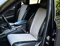 Передние оригинальные накидки на сиденья АVТОРИТЕТ серый