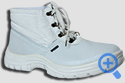 """Ботинки рабочие демисезонные """" Лидер-22"""",белые,юфтевые, ПУ"""