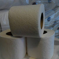 Туалетная бумага целлюлозная на гильзе, 24шт/уп