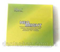 NEO BRIGHT (Neo Dental) композитны материал химического отверждения, 14г+14г