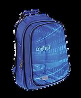 Школьный ранец zibi раскладной koffer digital zb16.0205dg ортопедическая спинка