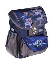 Каркасный школьный ранец zibi satchel defender zb16.0114df для младших классов