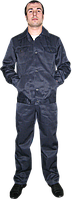 Костюм ИТР  рабочий синий куртка и брюки