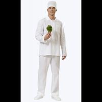 Костюм повара мужской  рубашка, брюки ткань 100% хб