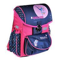 Каркасный школьный ранец zibi satchel circus zb16.0112cr-k для младших классов