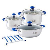 """Набір посуду 7 предметів. Артикул: 26-242-010. TM """"Krauff"""""""
