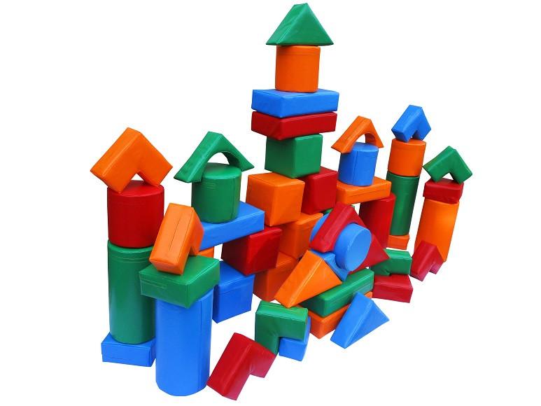 Детский мягкий модуль Kidigo Строитель-1