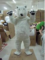 Белый медведь, ростовая кукла