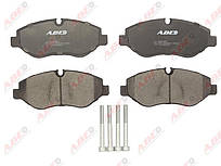 Колодки тормозные (передние) MB Sprinter (906) /Vito (639) Brembo ABE