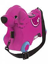 Детский чемодан на колесиках розовый BIG-Bobby-Trolley BIG 0055353