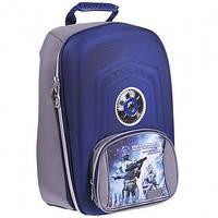 Раскладной школьный ранец zibi defender для мальчика zb15.0003df